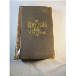 1869 Hitchocks Holy Bible Complete and How to Understand It