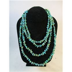 Hand Tied Turquoise Necklace