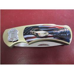 Frost Cutlery Police Folder Pocket Knife