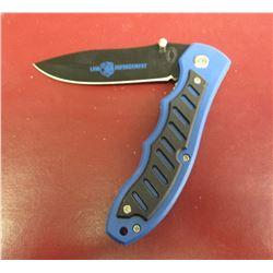 Frost Cutlery Homeland Heroes Law Enforcement Pocket Knife