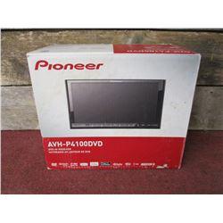 NIB Pioneer AVH-P4100DVD DVD AV Receiver