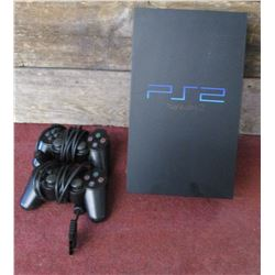 Sony PlayStation 2 with 2 Controllers