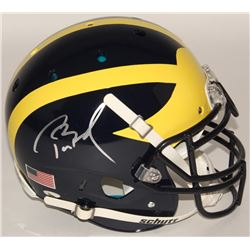 8d1ea064c25 Tom Brady Signed Michigan Wolverines Full-Size Authentic On-Field ...