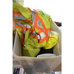 TOTE OF SAFETY GEAR