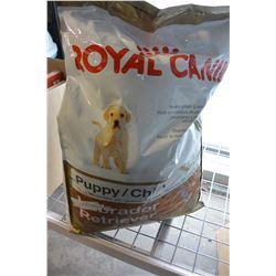 ROYAL CANINE LABRADOR RETRIEVER PUPPY FOOD 30 POUND BAG
