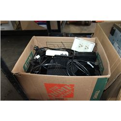 BOX OF SHAW CABLE BOXES