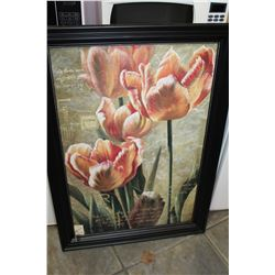 LARGE FRAMED PRINT ELEGANCE