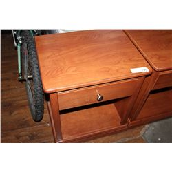 FUSION WOODWORKS INC 1 DRAWER NIGHTSTAND
