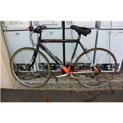 BLACK CCM ROAD BIKE