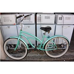 TEAL FIRMSTRONG CRUISER BIKE