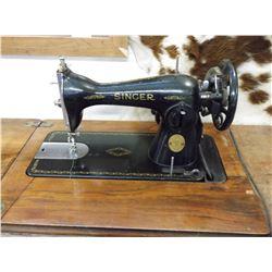 Singer Treadle Sewing Machine- Electified- 4 Drawer