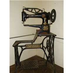 "Singer Treadle Leather Sewing Machine- Model 29-4- Good Working Order- 44""H X 27""W X 19""D"