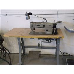 Brothers Industries LTD Leather Sewing Machine- DB2- B790- 3- Made in Japan- Manual- Thread