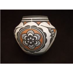 "Signed Carlo Loate Zuni New Mexico Pot- C.2009- 6""H X 6.25""W"