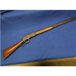 Winchester 73 Rifle-.32 WCF- Octagon Barrel- Buckhorn Sights- Front Sight Missing