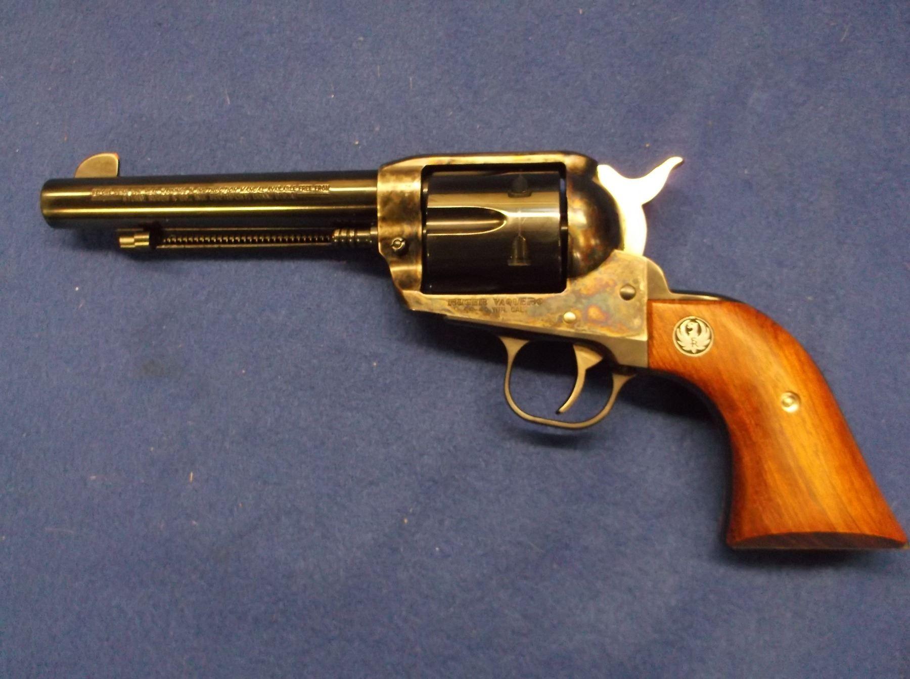 Ruger Vaquero Revolver-  44-40- Case Hardened- 5 5
