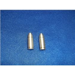 Two .999 Pure Silver Bullets- .625 OZ a Piece