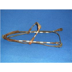 Silver Headstall- Buckles Marked Diablo Sterling