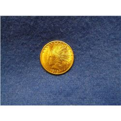 1915 Indian Head $10 Gold Piece