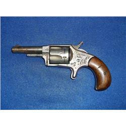 """Hopkins- Allen Ranger #2 Revolver- 32 Cal?- Etched- 2.5"""" Barrel"""