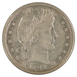 1893-S Barber Quarter Coin