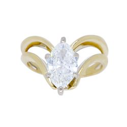 14KT Yellow Gold 0.72ct Diamond Ring