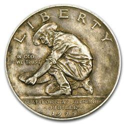 1925-S California Diamond Jubilee Commemorative Half Dollar Coin