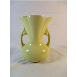 USA Marked Yellow Vase