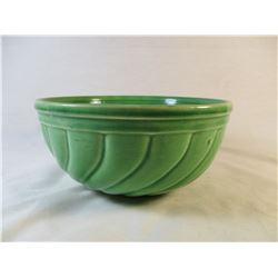 Vintage McCoy Green Bowl