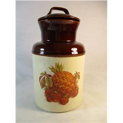 McCoy USA Fruit Cookie Jar Canister