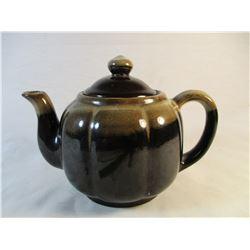 Brown Drip Tea Pot