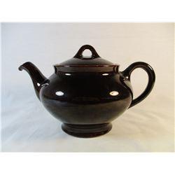 Royal Canadian Art Pottery Hamilton Brown Tea Pot