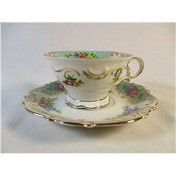 Schumann Bavaria Germay US Zone Cup and Saucer Set