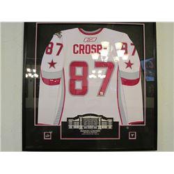 SIDNEY CROSBY FRAMED 2007 NHL ALLSTAR JERSEY #42 OF 87