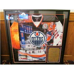 GLENN ANDERSON COMMEMORATIVE JERSEY SIGNED #184 OF 300 LIMITED EDITION