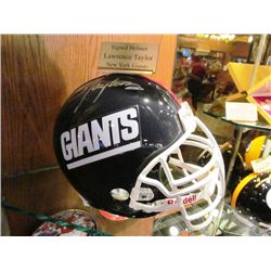 LAWRENCE TAYLOR SIGNED NFL HELMET NY GIANTS
