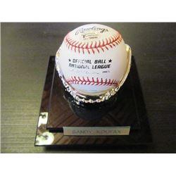 AUTOGRAPHED MLB BASEBALL - SANDY KOUFAX