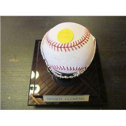 AUTOGRAPHED MLB BASEBALL - ROGER CLEMENS