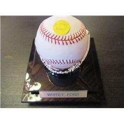 AUTOGRAPHED MLB BASEBALL - WHITEY FORD