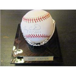 AUTOGRAPHED MLB BASEBALL - GARY CARTER HOF 2003