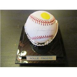 AUTOGRAPHED MLB BASEBALL - ROLLIE FINGERS