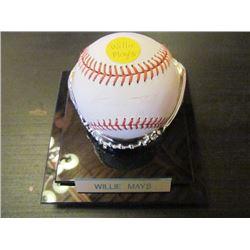 AUTOGRAPHED MLB BASEBALL - WILLIE MAYS
