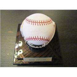 AUTOGRAPHED MLB BASEBALL - BOB FELLER