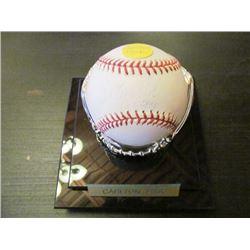 AUTOGRAPHED MLB BASEBALL - CARLTON FISK