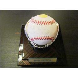 AUTOGRAPHED MLB BASEBALL - BOB GIBSON NO HITTER 8/14/71