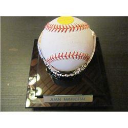 AUTOGRAPHED MLB BASEBALL - JUAN MARICHAL