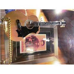 ROCK N ROLL GREATS - PICTURES/GUITAR - ELVIS PRESLEY/GEORGE LYNCH/ROLLING STONES/CHUCK BERRY/BEATLES