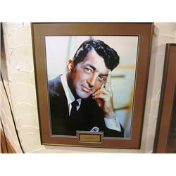 5 FRAMED PICTURES - DEAN MARTIN, GEORGE JONES, MERLE HAGGARD, THE JUDDS, GARTH BROOKS