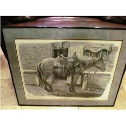 FRAMED PRINT - NOT SO BRONY ANYMORE. BY DAN DAVID