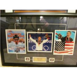 BEAUTIFULLY FRAMED PRINTS - MICHAEL PHELPS